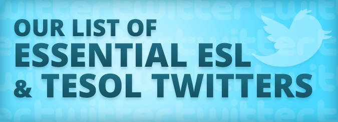 Our List of Essential ESL and TESOL Twitters